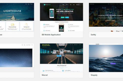 Темы Landing Page для сайта WordPress найти быстро