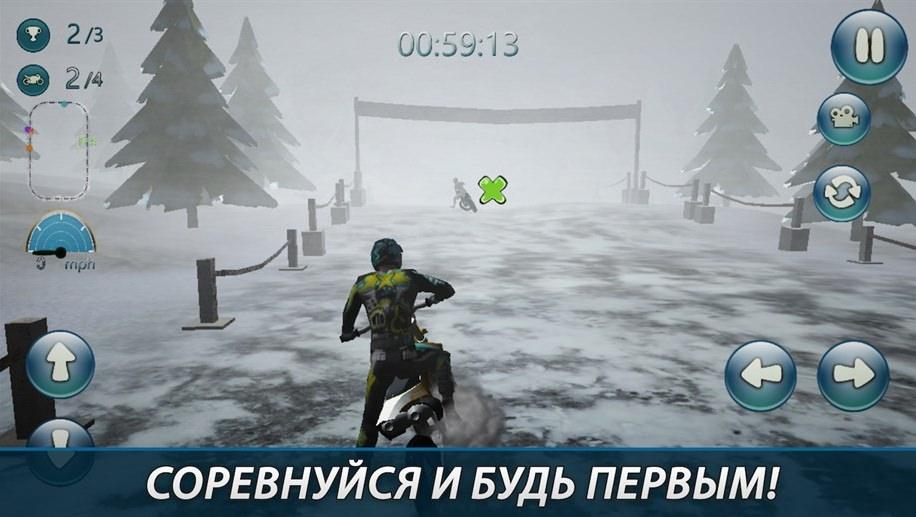Игра Winter Motocross 3D Continuum Release