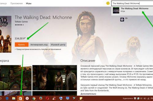 The Walking Dead Michonne обзор игры Windows 10