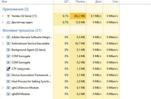 Как открыть диспетчер задач Windows 10