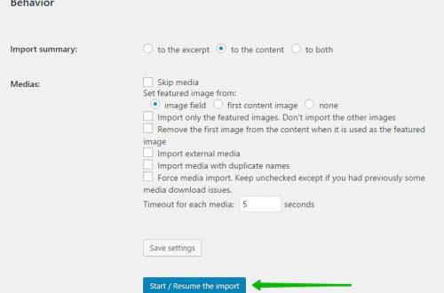 Импорт с Drupal на WordPress
