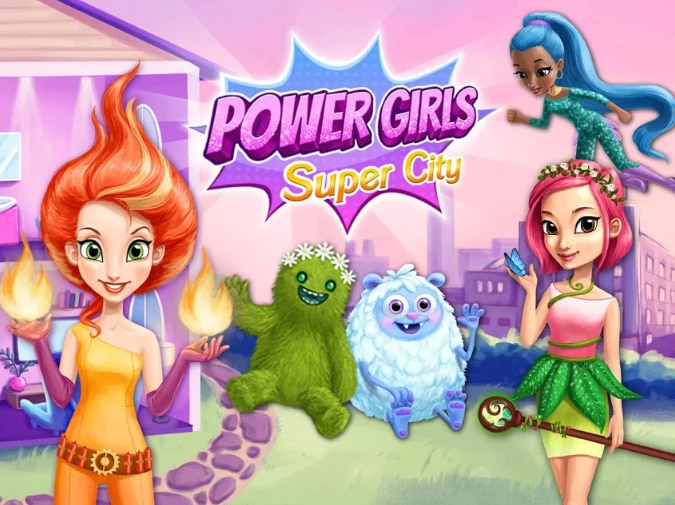 супер девушки город игра андроид