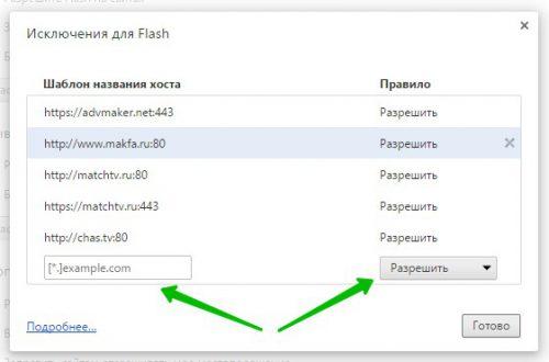 Блокировать Flash на сайтах в Google