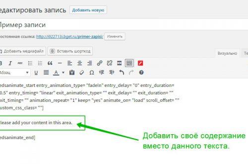 Супер анимация CSS3 сайт WordPress!