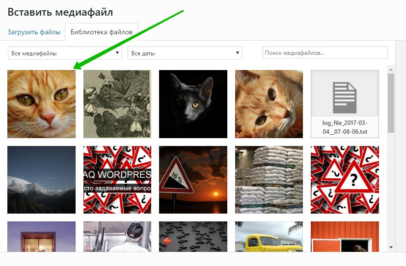 фото на сайт WordPress Супер плагин