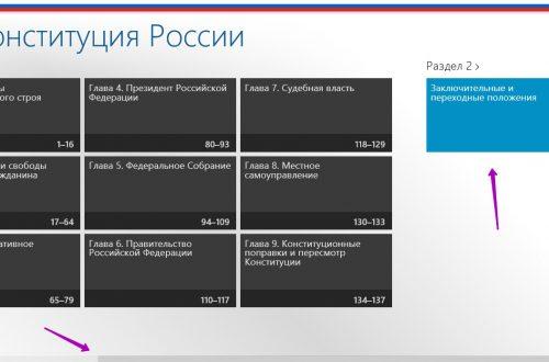 Приложение Конституция России на Windows 10 !