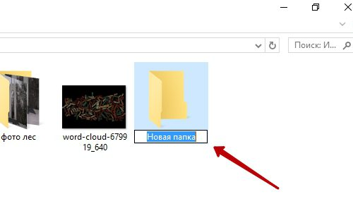 Как создать папку на компьютере Windows