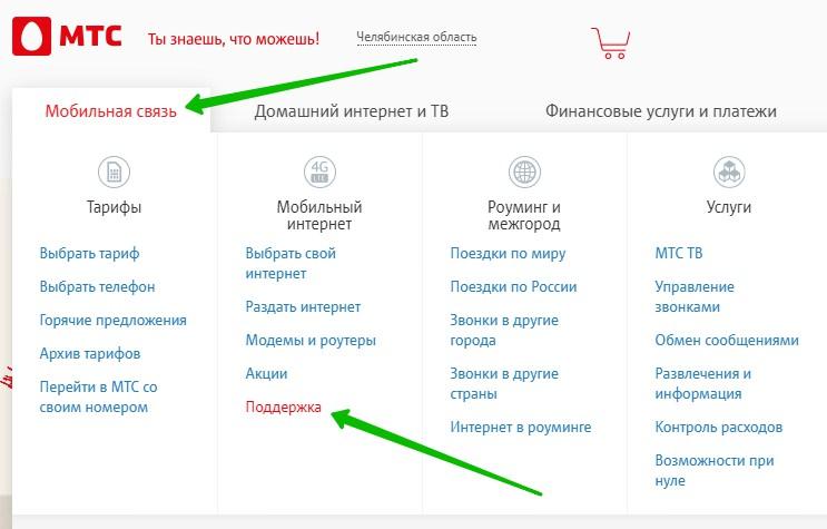 мобильная связь МТС