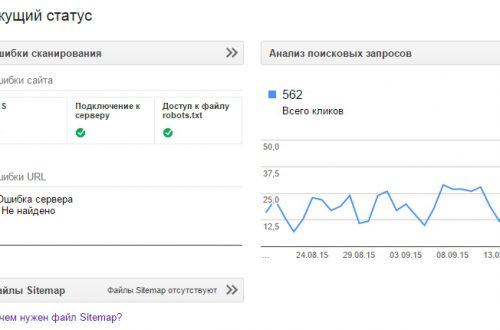 Знакомимся с сервисом Google Веб-мастер