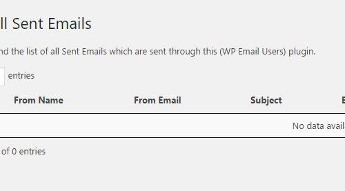 Рассылка email писем плагин WordPress