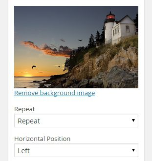 Как установить разный фон для страниц сайта wordpress ?