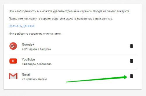 Как удалить почту аккаунт Гугл Инструкция