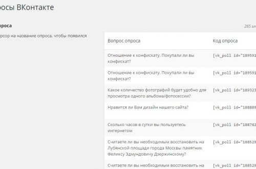 Интегрируем сайт wordpress с социальной сетью Вконтакте