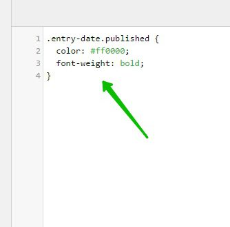 Text Color изменить цвет текста на сайте WordPress