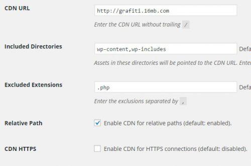 Плагин wordpress CDN сеть доставки контента
