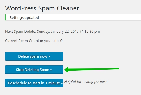 WordPress Spam Cleaner удалить спам автоматически