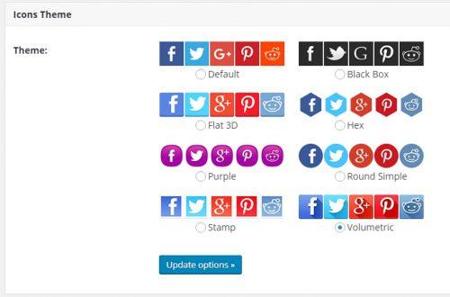 Cool Image Share, кнопки соцсетей на фото и изображение плагин