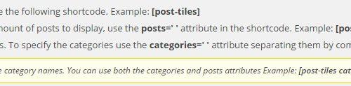 Супер анонсы записей в виде плитки Tiles wordpress ! (адаптивные)