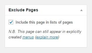 Как сделать страницу на сайте невидимой ?