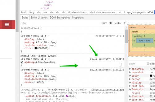 CSS стили изменить на сайте просто и быстро