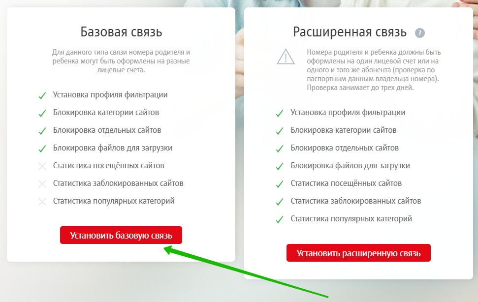 выбор связь мтс контроль интернет
