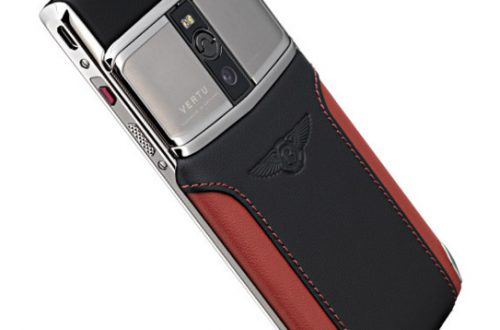 Смартфон VERTU SIGNATURE TOUCH FOR BENTLEY обзор функций