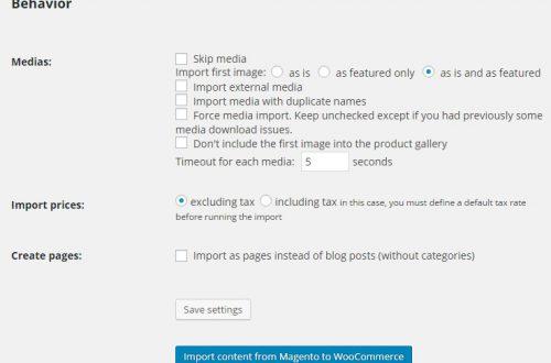 Перенести интернет магазин из Magento в Woocommerce