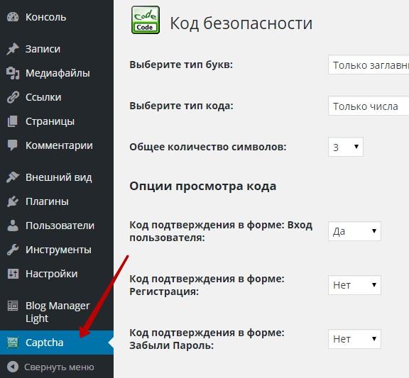 Простая каптча для защиты wordpress сайта !