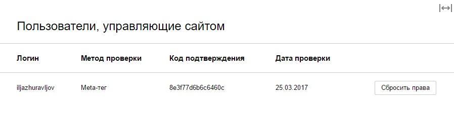 подтверждение сайта в поиск Яндекс
