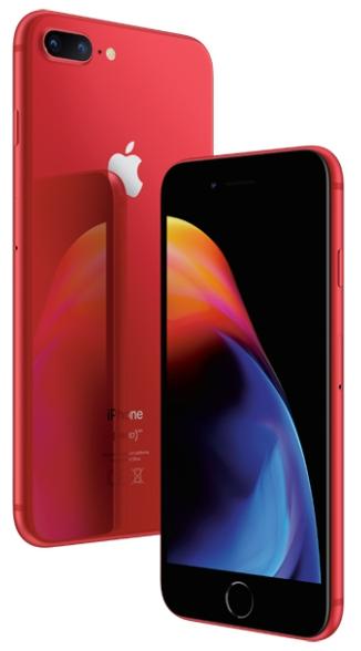 Айфон 8 плюс красный фото