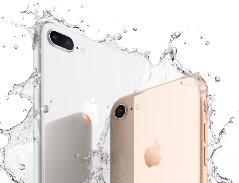 айфон 8 плюс вода