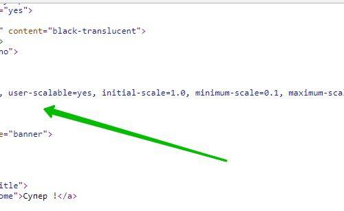Мета тег viewport увеличить сайт с мобильных браузеров плагин WordPress