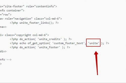 Как убрать внешнюю ссылку из шаблона WordPress