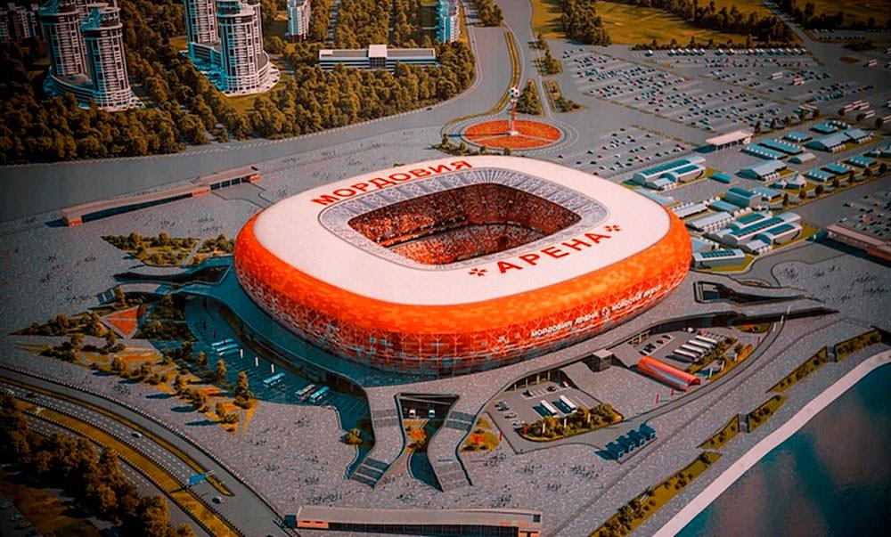 Саранск. Мордовия Арена ЧМ 2018
