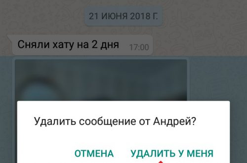 Как удалить фото в ватсапе WhatsApp