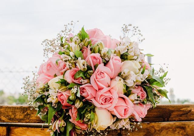 цветы, букет, подарок