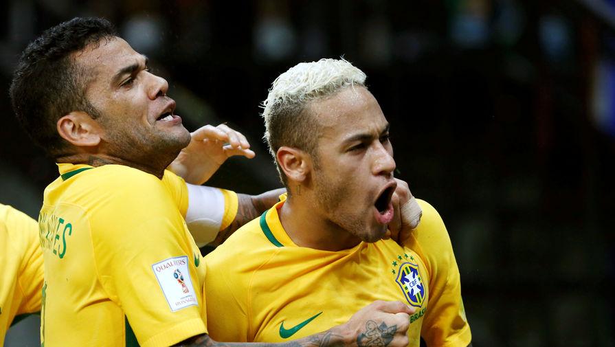 Бразилия Неймар ЧМ 2018