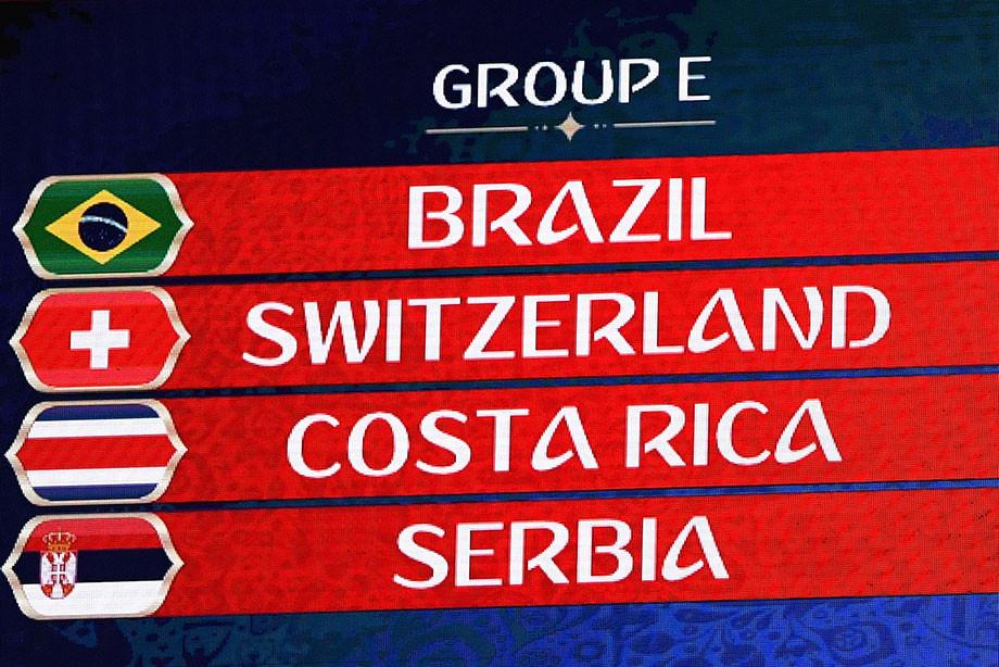 Чемпионат мира по футболу 2018 группа E