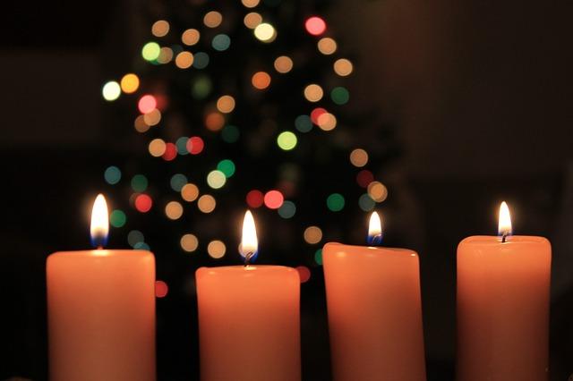 гадание свечка новый год