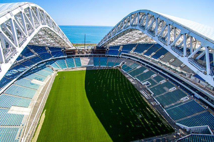 стадион фишт сочи ЧМ 2018
