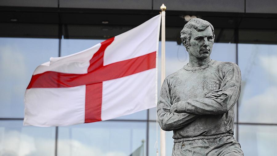 флаг сборной Англии по футболу