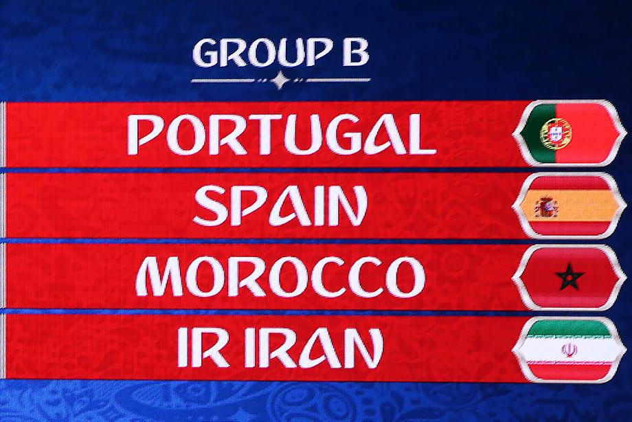 Чемпионат мира по футболу 2018 группа B