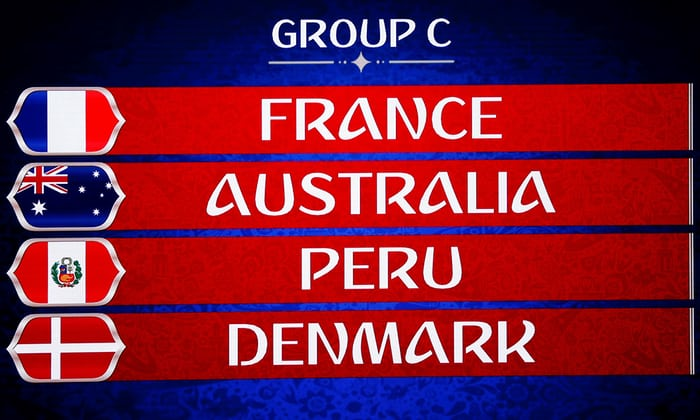 Чемпионат мира по футболу в России, группа C