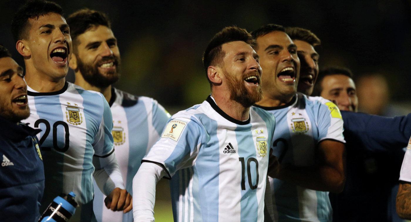 Месси Аргентина ЧМ 2018