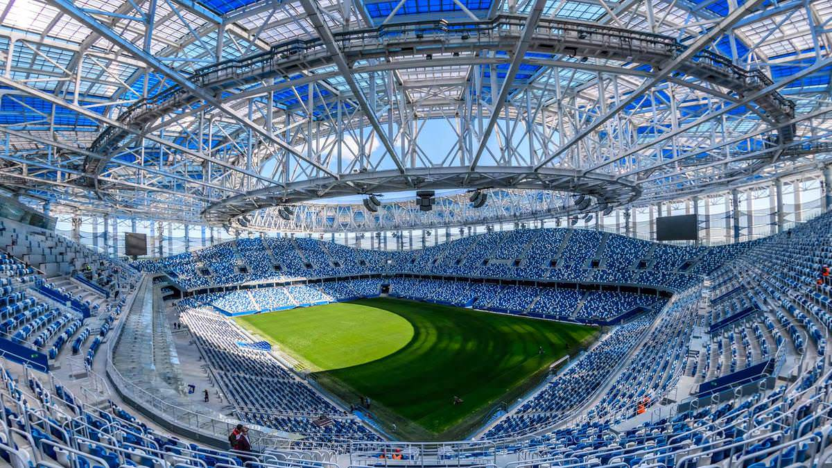 Стадион Нижний Новгород. Группа D