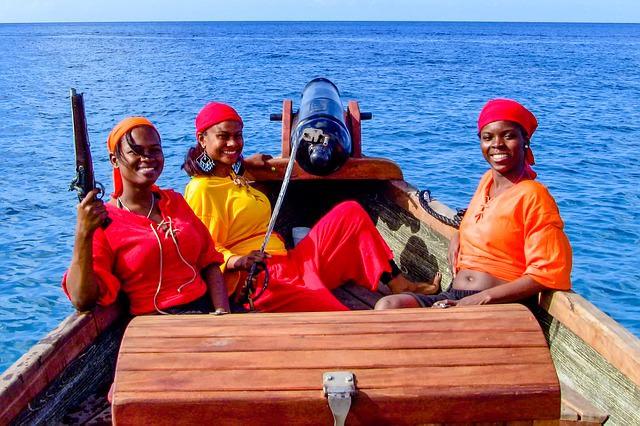пираты море