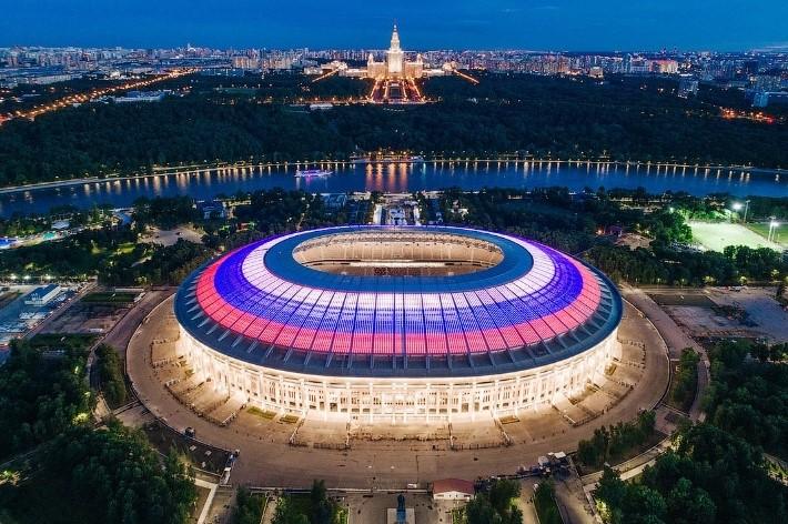 стадион лужники москва