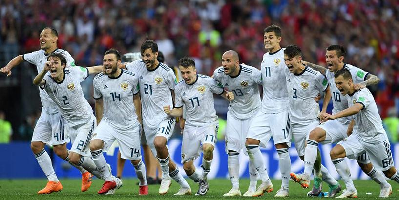 сборная России по футболу ЧМ четвертьфинал
