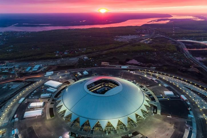 Самара Арена Чемпионат мира по футболу Россия 2018