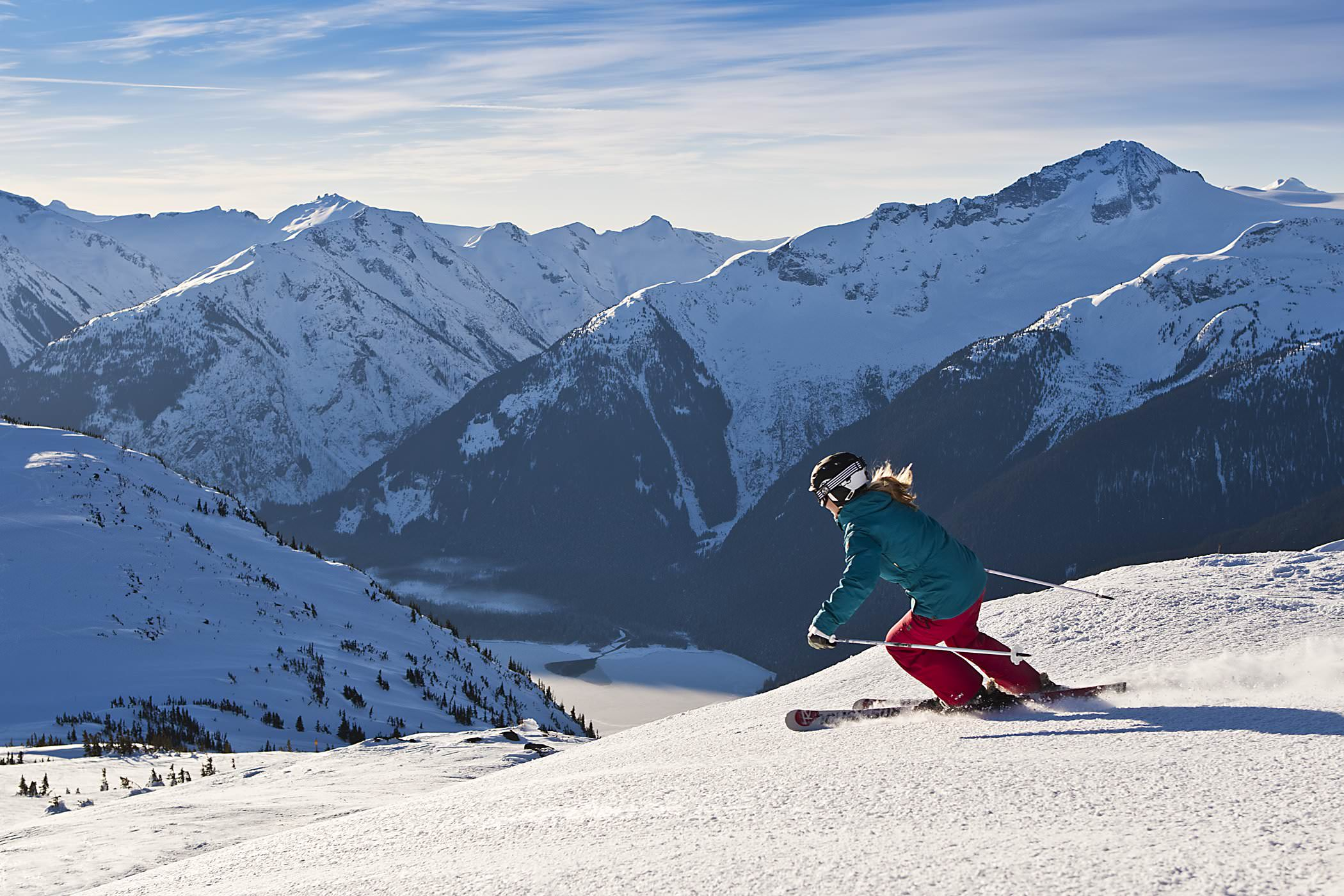 Уистлер-Блэккомб – горнолыжный курорт в Канаде